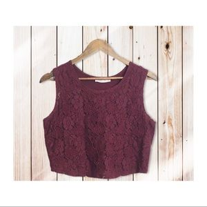 Abercrombie & Fitch lace tank top